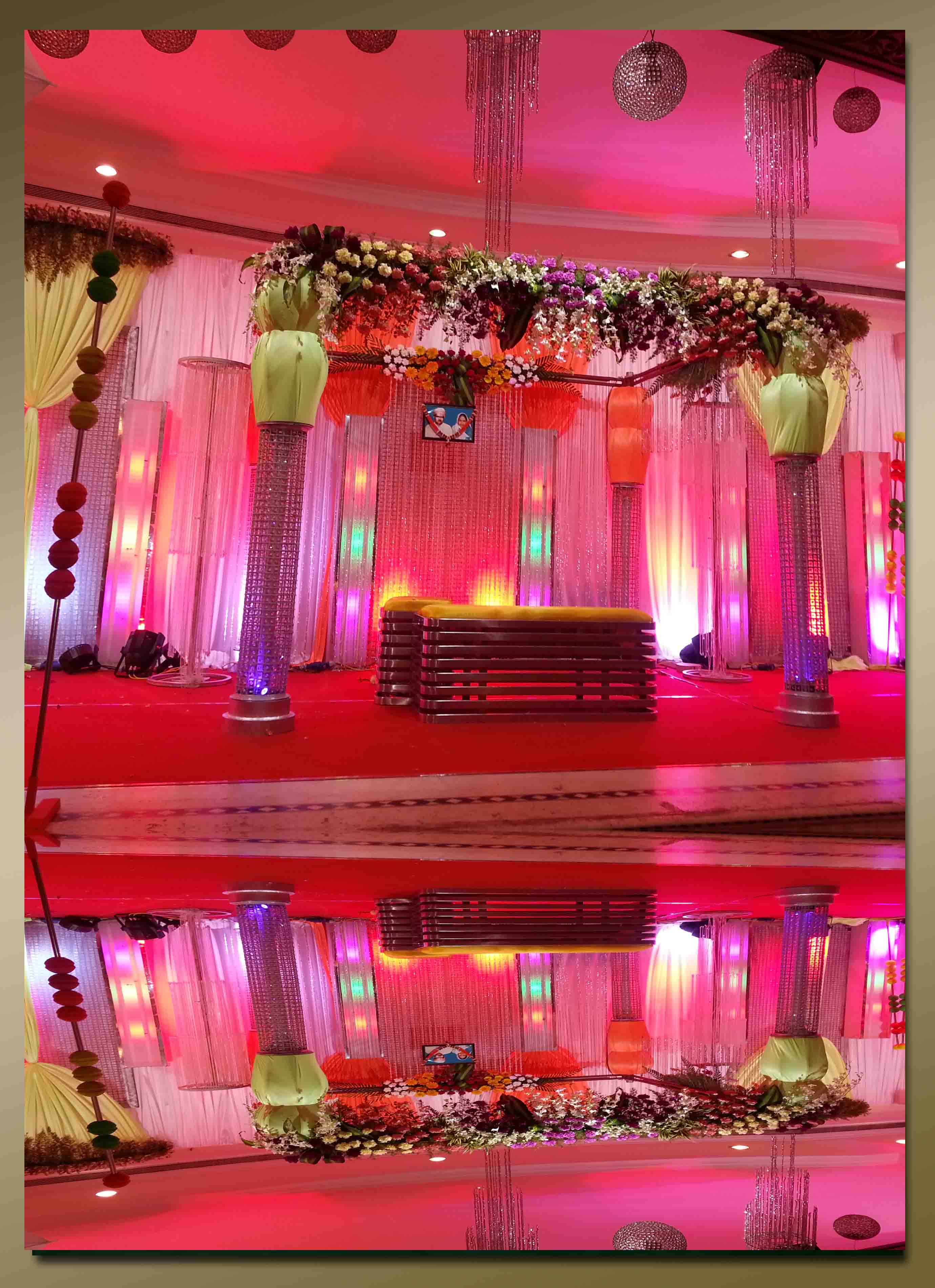 fiber decorative items for hire in chennai